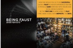 Being Faust: Enter Mephisto