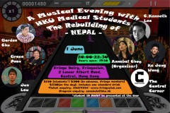 A Musical evening with HKU Medical Students- The Rebuilding of Nepal