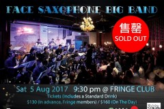 FACE Saxophone Big Band Live