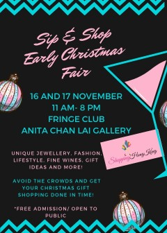 Sip and Shop Pre Christmas fair