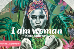 'I Am Woman' a solo art show