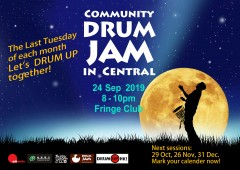 Last Tuesday Community       Drum Jam
